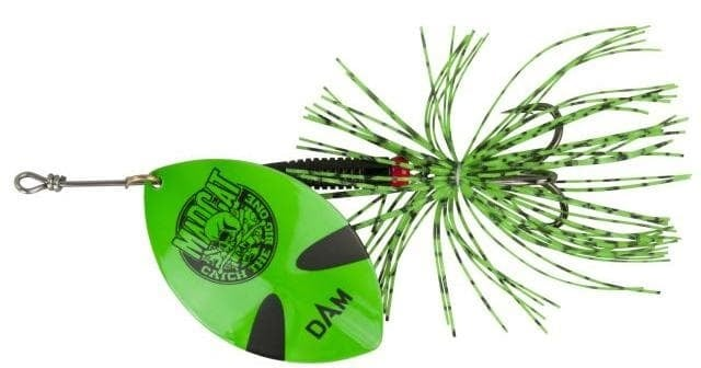 MADCAT BIG BLADE SPINNERS Блесна GREEN