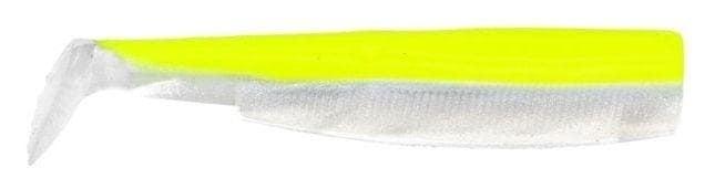 Fiiish Black Minnow №6 20cm Силиконова примамка Fluo Yellow/White