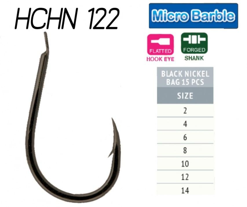 HAYABUSA 122 Black Nickel Единични куки