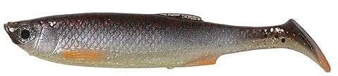 Savage Gear LB 3D Bleak paddle tail 10cm Силиконова примамка Green Pearl Silver