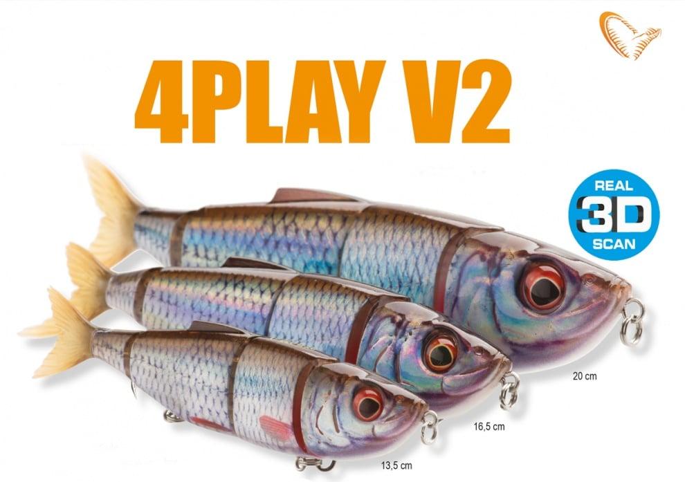 Savage Gear 4Play V2 Swim & Jerk 16.5cm Воблер