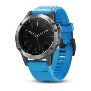 Garmin Quatix® 5 GPS часовник за вода Със силиконова каишка