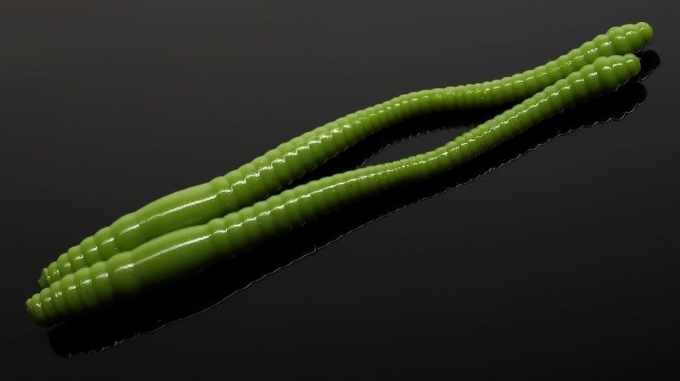 Libra Lures DYING WORM 70 Силиконова примамка червей 031 Olivee (вкус Рак)
