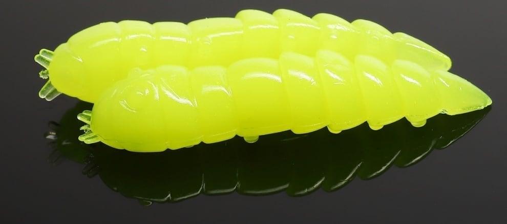 Libra Lures KUKOLKA 27 Силиконова примамка 006 Hot yellow (вкус Сир.)