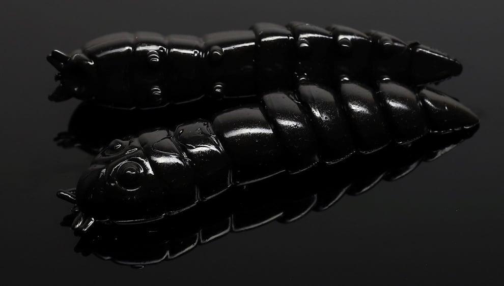 Libra Lures KUKOLKA 27 Силиконова примамка 040 Black (вкус Сир.)