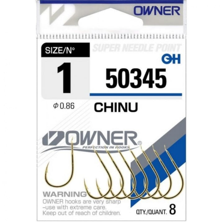Owner Chinu Gold 50345 Единична кука 2