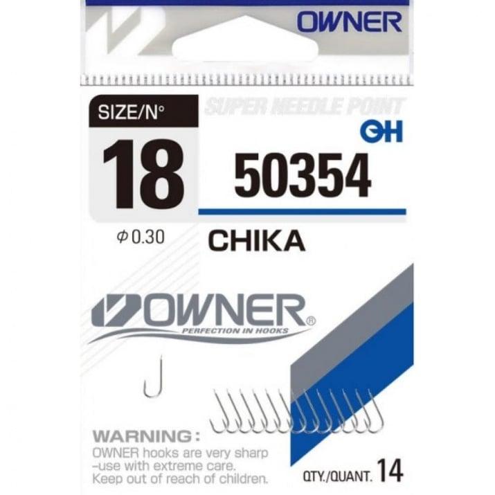 Owner Chika White Единична кука 2