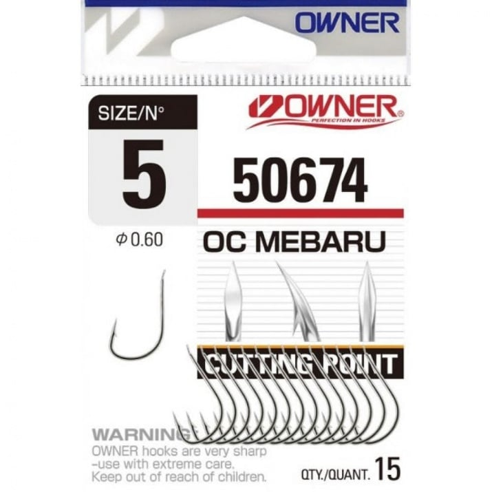 Owner Cut-Mebaru 50674 Единична кука