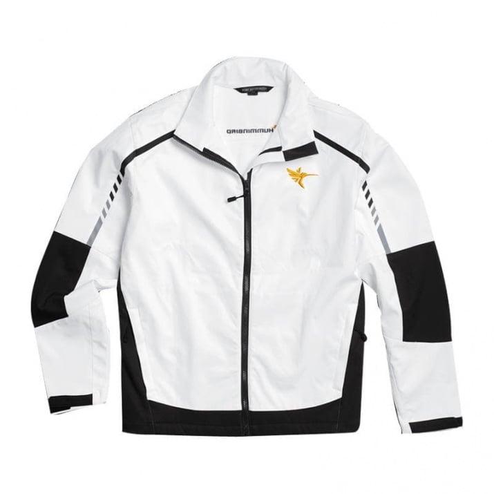 Humminbird Embark Mens Soft Shell Jacket-White Яке