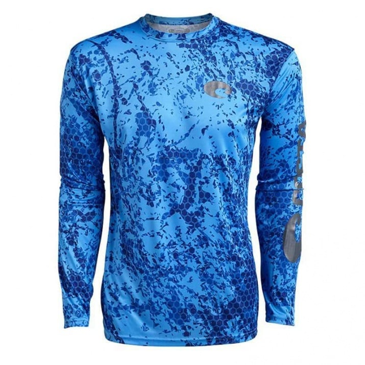 Costa Hexo Technical Long Sleeve Блуза
