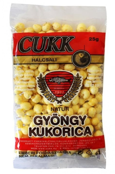 CUKK Pearl Corn Natural Захранка