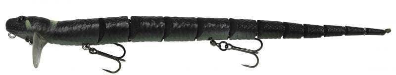 Savage Gear 3D SNAKE Воблер змия Steel Adder Black Adder