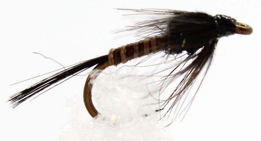 Dragon Мухи английски нимфи Black-Quill