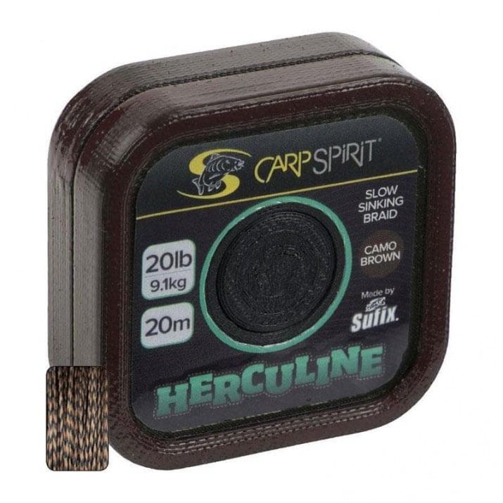 Carp Spirit Herculine 20m Camo Brown Монофилен повод ACS640070