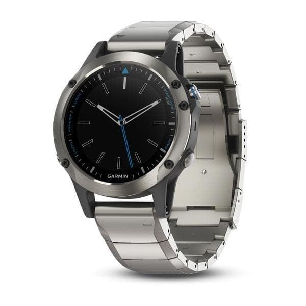Garmin Quatix® 5 GPS часовник за вода Sapphire с метална каишка