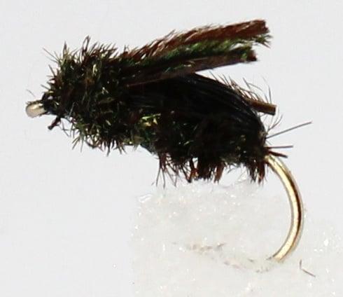 Dragon Мухи английски нимфи CochyBondhu Beetle Black