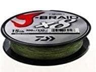 Daiwa J-Braid X8 Dark Green Плетено влакно JBRAIDDG300-0.18