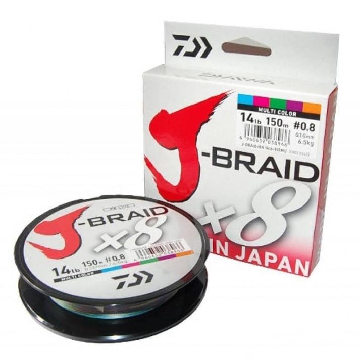 Daiwa J-Braid X8 Multi Плетено влакно