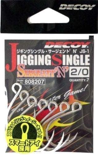 Decoy Jigging Single Sergeant N Единична кука JSS-2/0