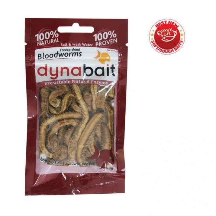 Dynabait Freeze Dried Blood worms Естествена примамка