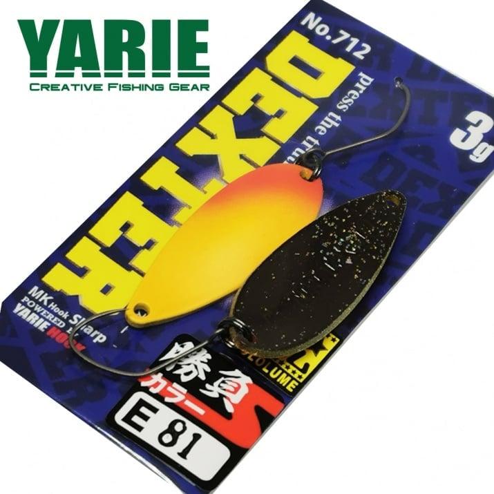 Yarie 712 Dexter 3.0g Блесна E81