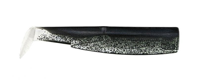 Fiiish Black Minnow №2, 9cm Силиконова примамка Black