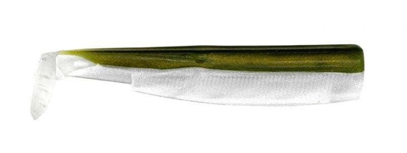 Fiiish Black Minnow №2, 9cm Силиконова примамка Kaki