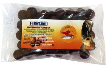 FilStar 250гр Протеинови топчета Люта Риба