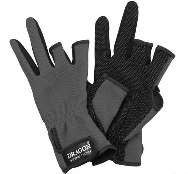 Dragon Ръкавици с три пръста Сиви 01-003