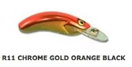 HALCO Rellik Doc 75 Воблер R11 Chrome Gold Orange Back