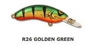 HALCO Rellik Doc 75 Воблер R26 Golden Green