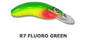 HALCO Rellik Doc 75 Воблер R7 Green Fluoro
