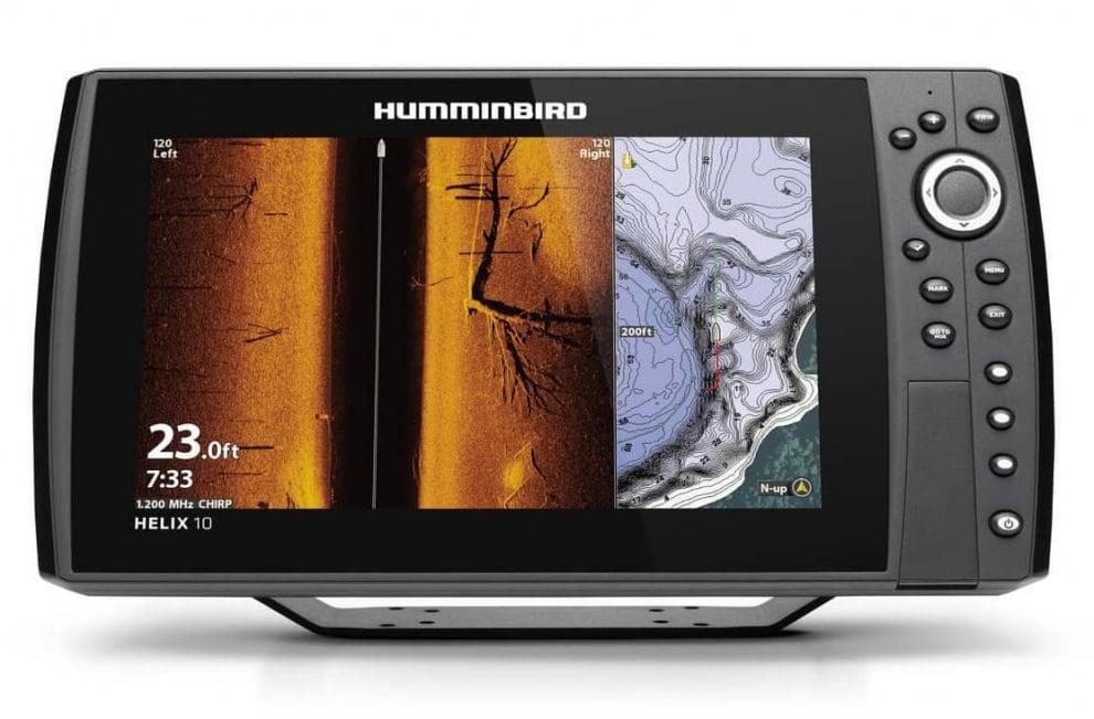Humminbird HELIX 10 CHIRP GPS G3N Сонар