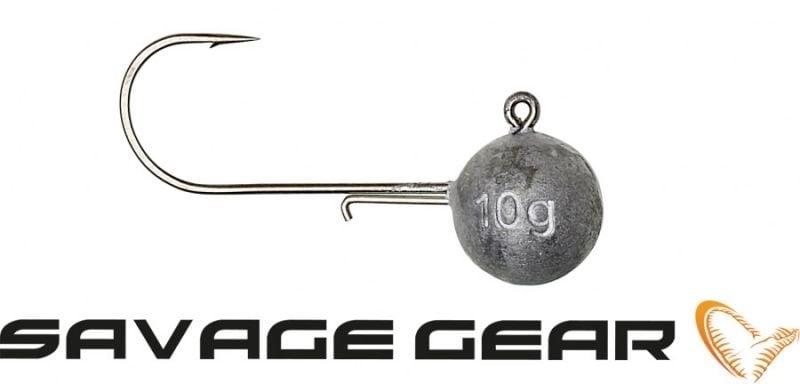 Savage Gear Ball Jig Head 10 джиг глави