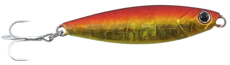 Major Craft JIGPARA MICRO SLIM 7 гр. Пилкер #18 - glow pink #03 - gold-red