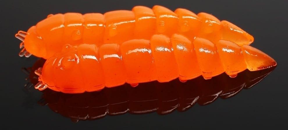 Libra Lures KUKOLKA 27 Силиконова примамка 011 Hot orange (вкус Рак)