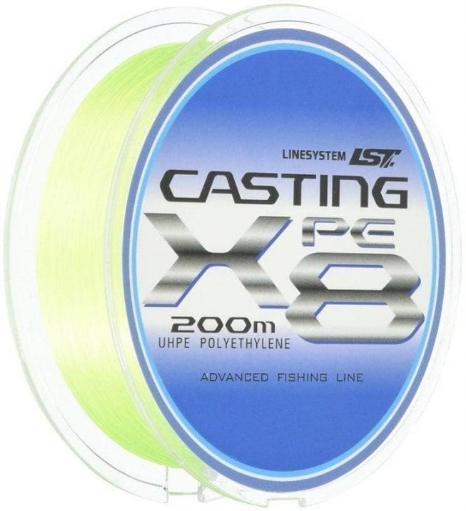 Linesystem Casting PE X8 200m. Плетено влакно