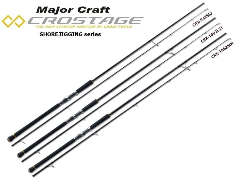 Major Craft New Crostage Shore Jigging Series CRX-902LSJ Въдица