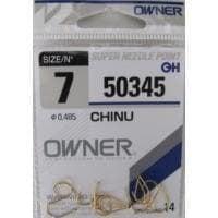 Owner Chinu Gold 50345 Единична кука #7
