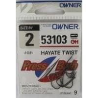 Owner Hayate Twist 53103 Единична кука #2