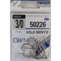 Owner KOJI SENYO 50226 Единична кука #3/0