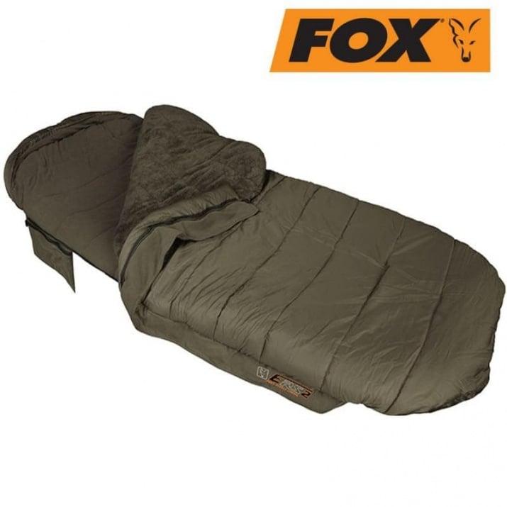 Fox Evo-tec ERS Full Fleece Спален чувал къмпинг оборудване