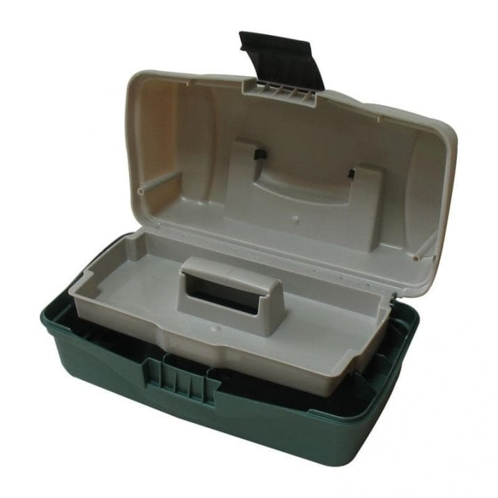 Plastilys BOX-M1A Куфар 1 тарелка зелен овал