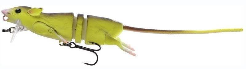 Savage Gear 3D Rat (Rad) Плъх SG58316 (Fluo Yellow)