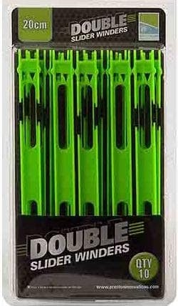 Preston Innovations Double Slider Preston Совалки Double Slider Preston - 20 cm Green