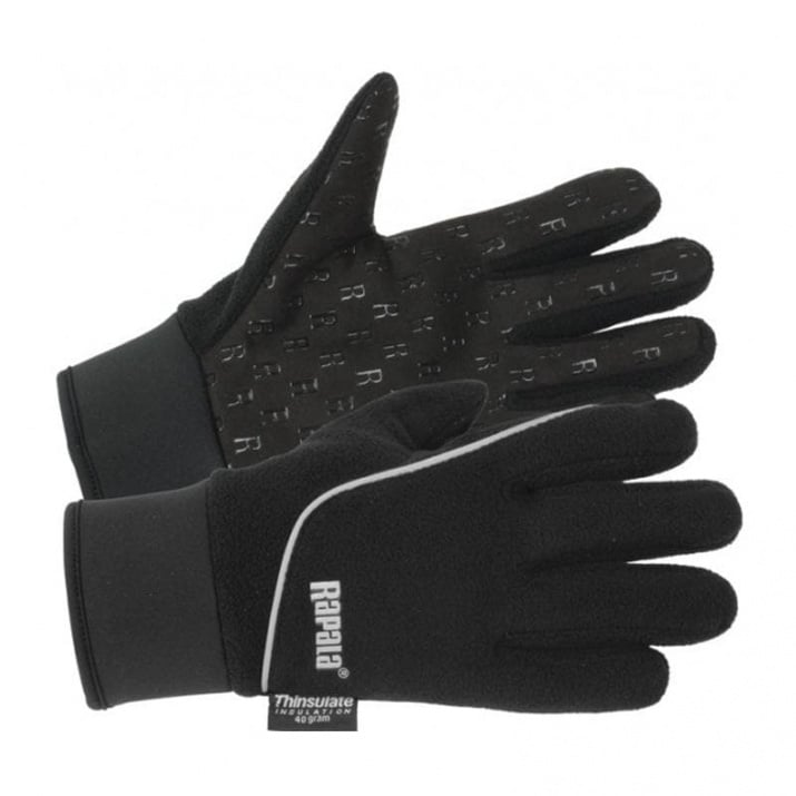 Rapala Stretch Glove - Rubberized Palm Ръкавици L - /RSG-L/