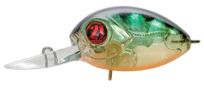 Pontoon 21 Red Rag 36F-SR Воблер 842 MI Chartreuse Perch