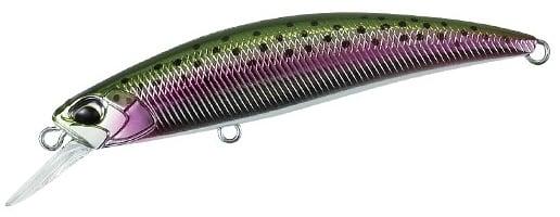 DUO SPEARHEAD RYUKI 70S Воблер MCC4036 Rainbow Trout