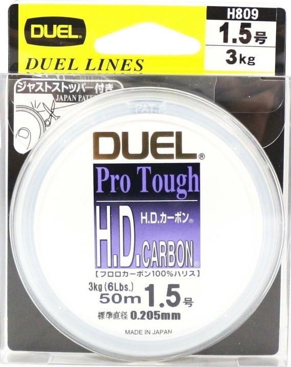 DUEL H.D.Carbon Fluorocarbon 50m Флуорокарбоново влакно