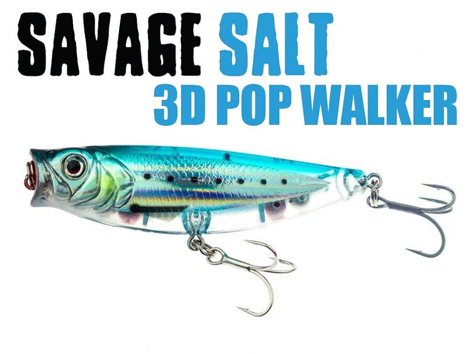 Savage Gear 3D Minnow Pop Walker Воблер